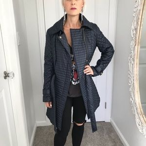 Via Spiga quilted trench jacket